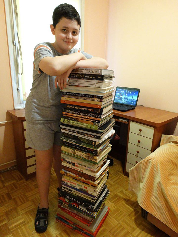 all the books dusan read before writing his encyclopedia of prehistoric animals