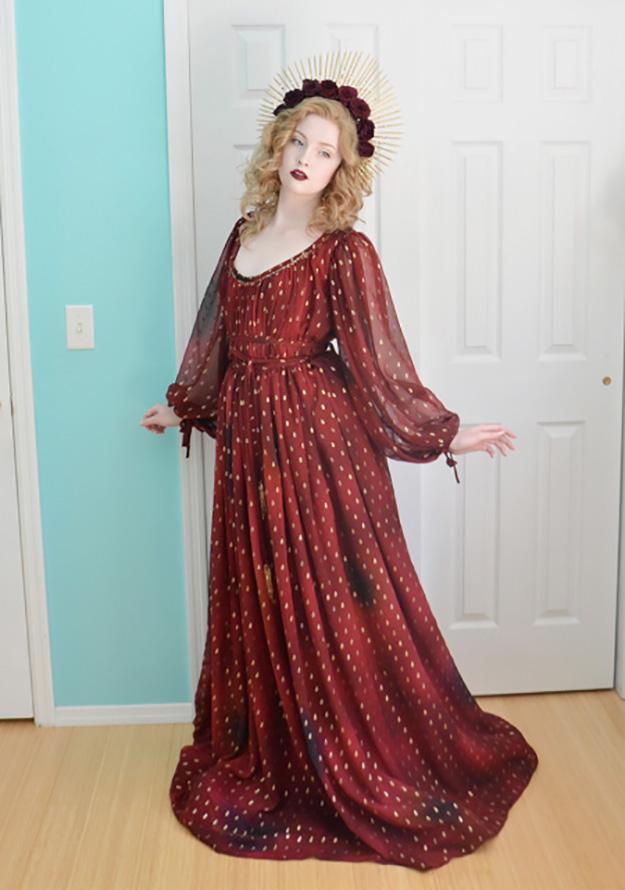 angela in heinrich mucke costume