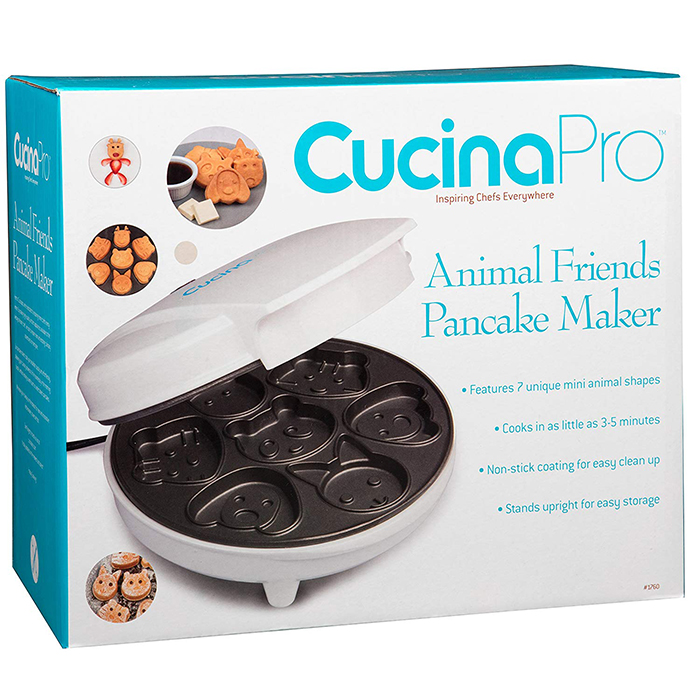 animal friends pancake pan