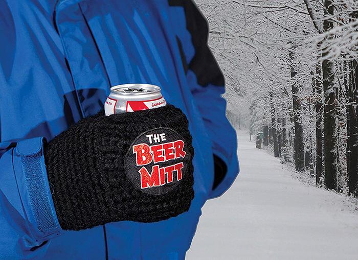 beer mitts keep hands warm