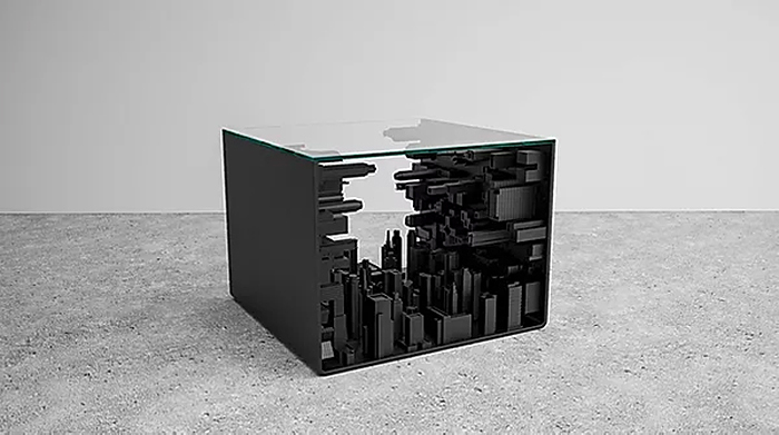 black edition city cube piece