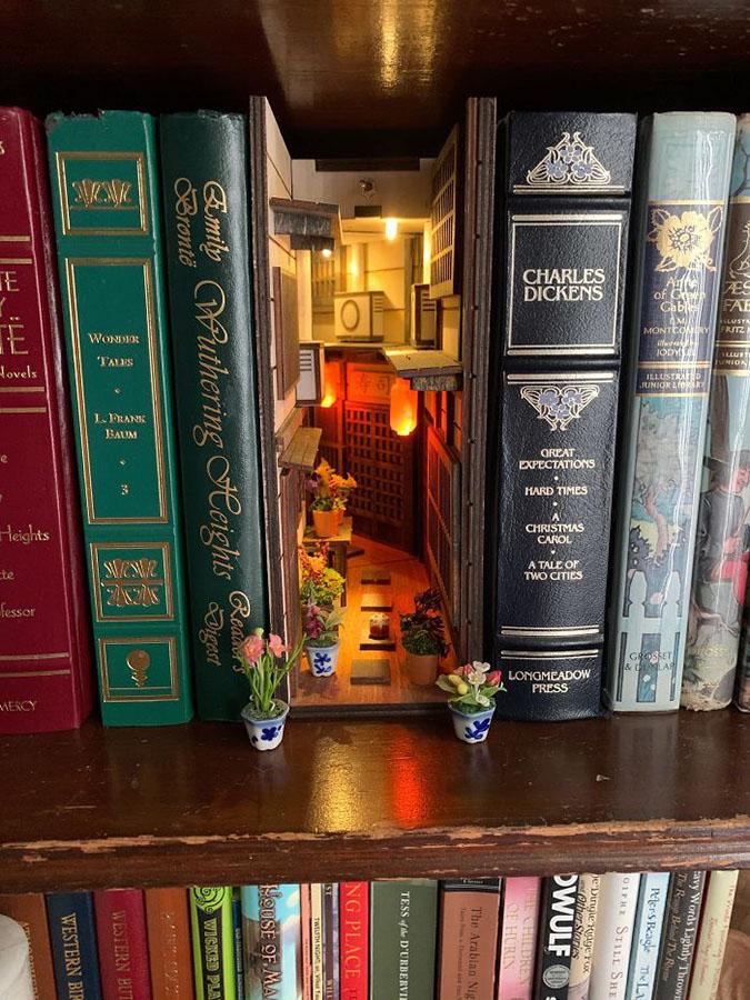 bookshelf inserts bought from ebay