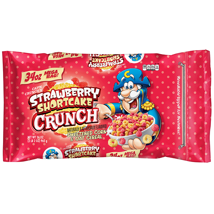 Cap'n Crunch Strawberry Shortcake Cereal
