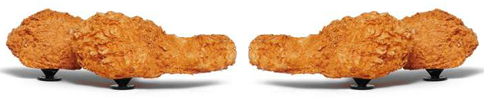 chicken drumstick jibbitz charms