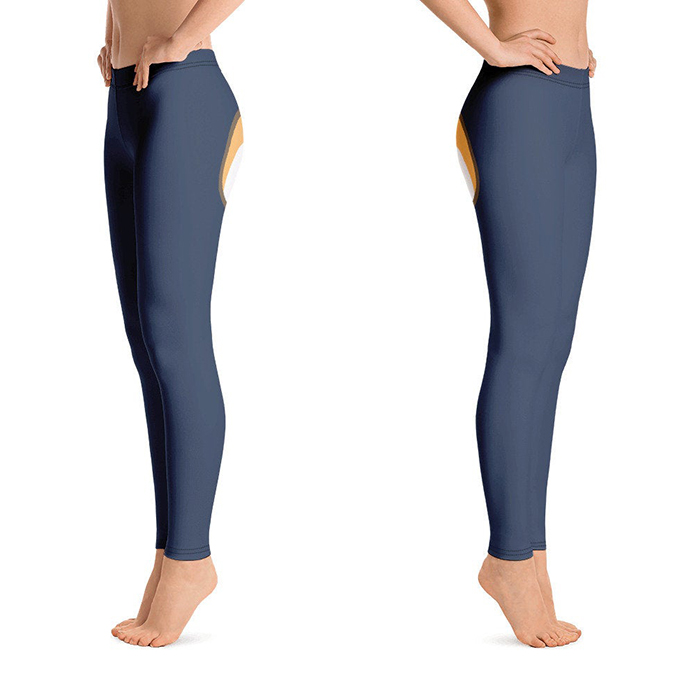 close-fitting tights cute design