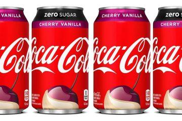 coca-cola cherry vanilla