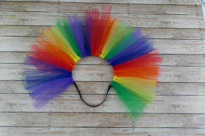 colorful ballerina skirt for hens