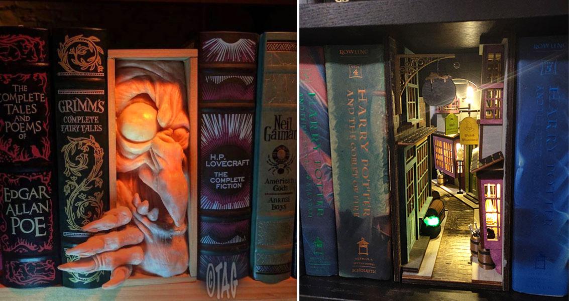 30 Mesmerizing Bookshelf Inserts That Book Fans Will Love