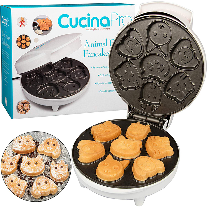cucina pro waffle makers mini animals