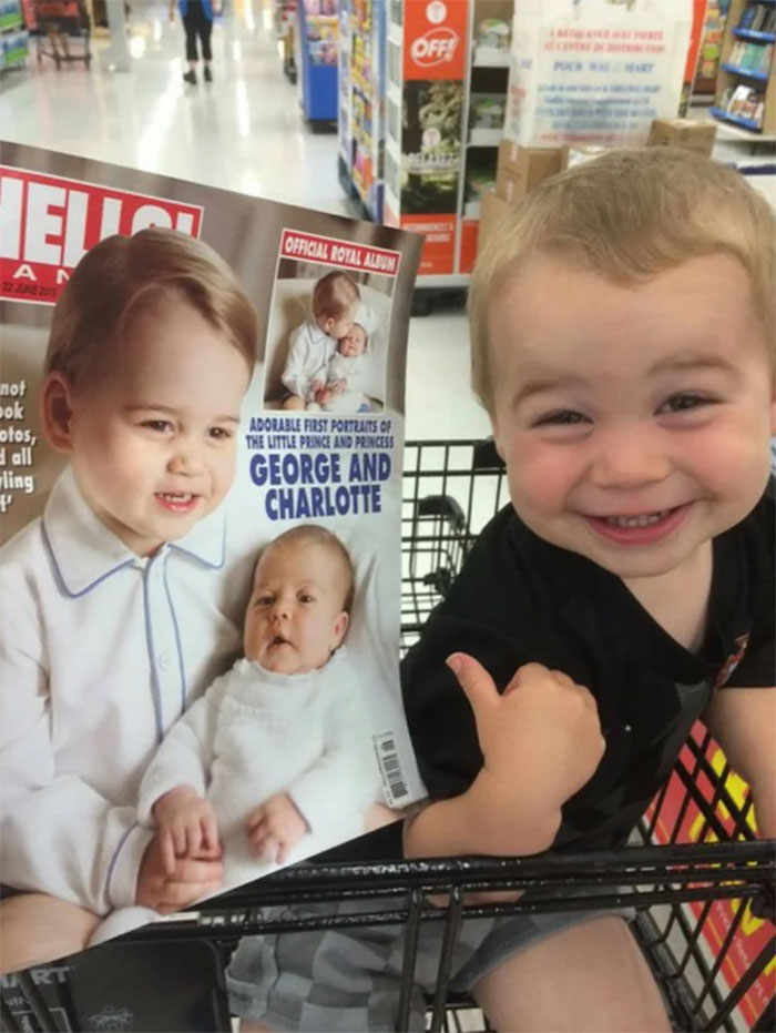 doppelgangers kid looks like the royal prince