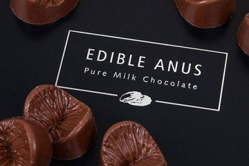 edible chocolate anus
