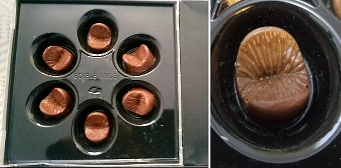 edible chocolate anus