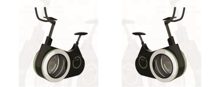 exercise bike washing machine