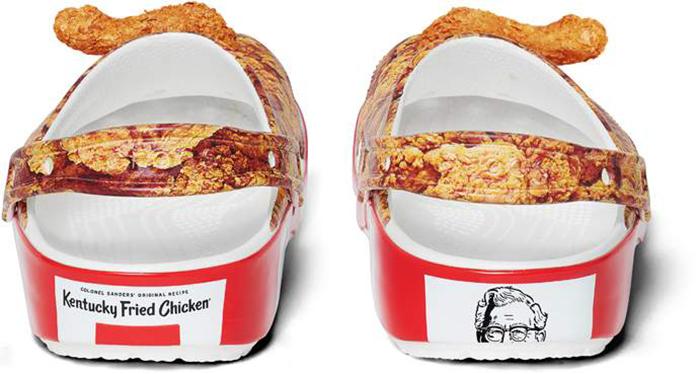 fried-chicken crocs kfc
