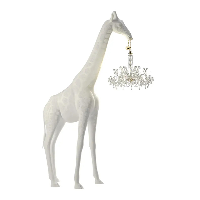 full body ornamental hanging lamp