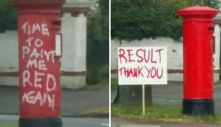 funny Polite Graffiti