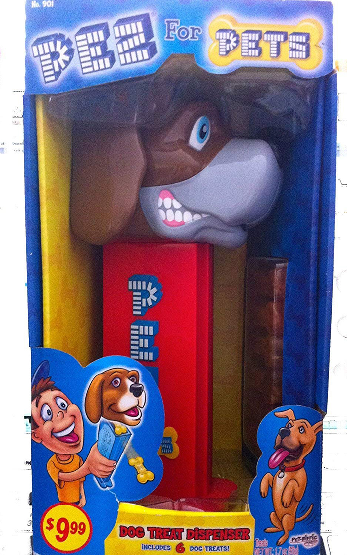 giant pez dispenser beagle head