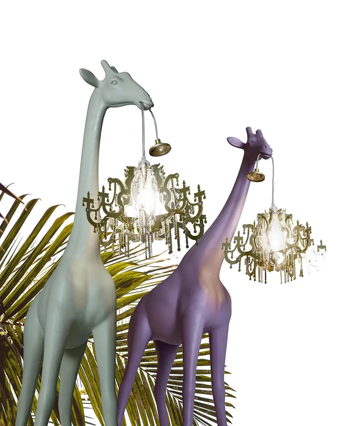 giraffe chandelier lamps xs full body