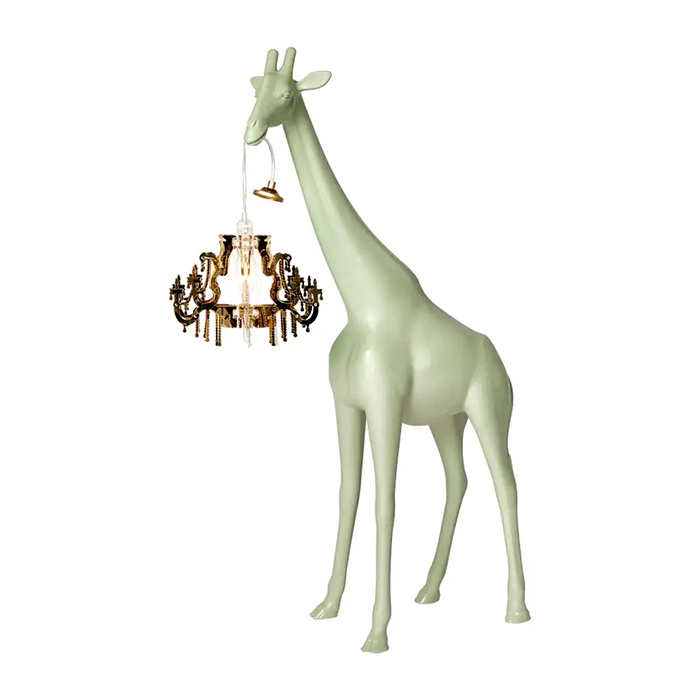 giraffe chandelier lamps xs warm sand