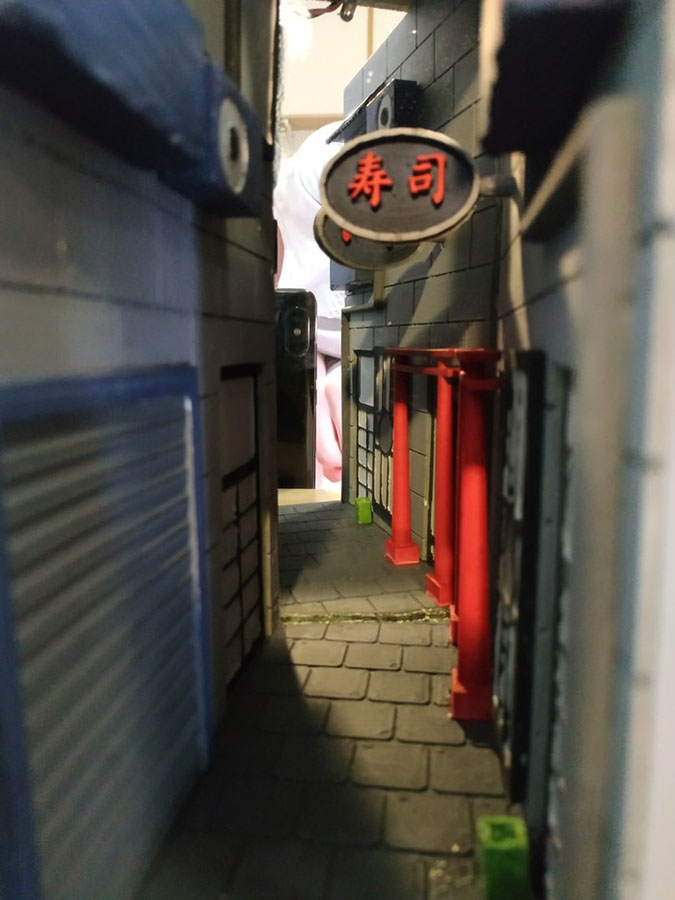 japanese alley book nook by jods