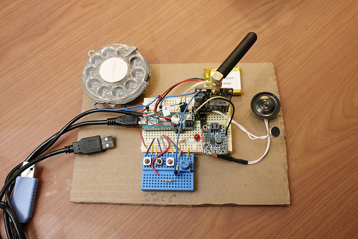 justine haupt retro mobile phone internal components