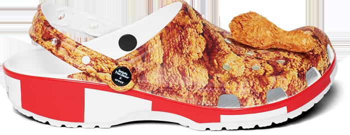 kfc fried-chicken crocs