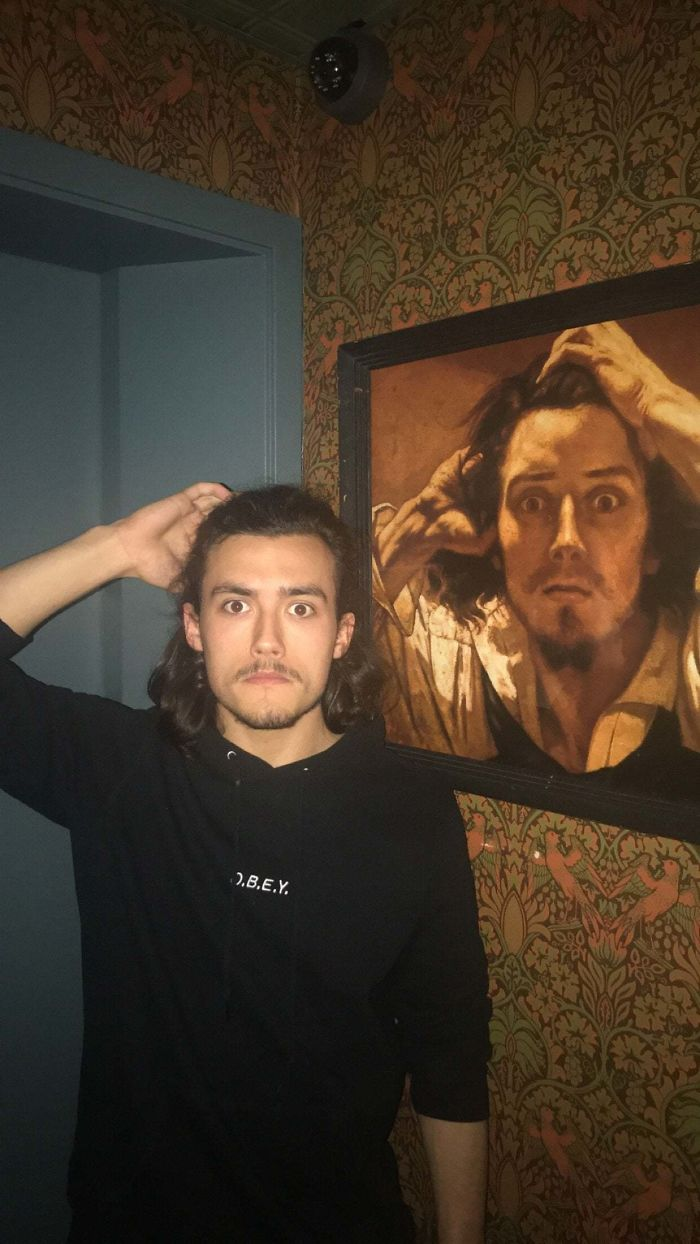 lookalikes unexpected gustave courbet