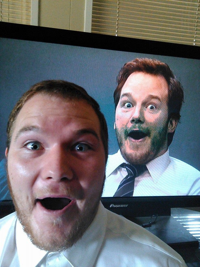 lookalikes unexpected places chris pratt