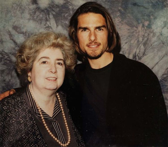maria snoeys lagler with Tom Cruise
