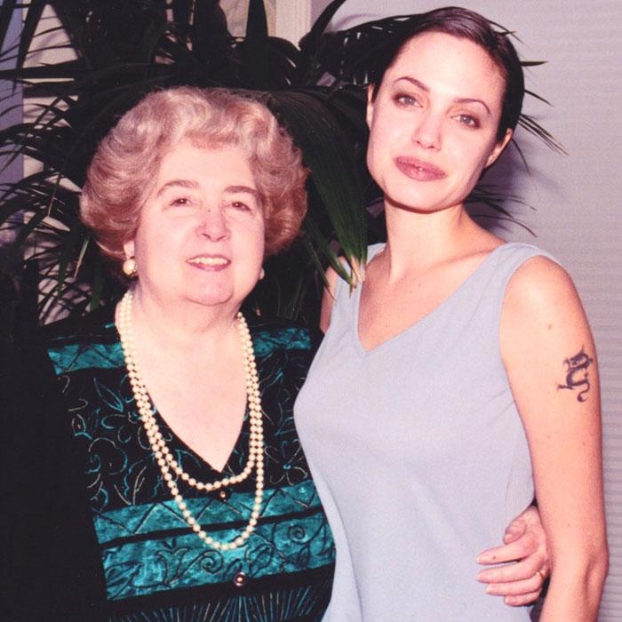 maria snoeys lagler with angelina jolie