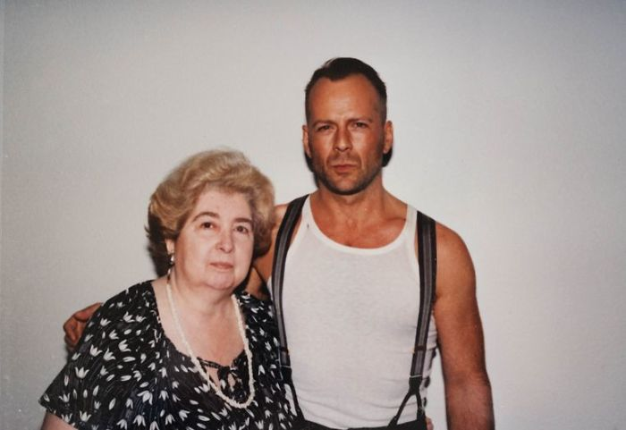 maria snoeys lagler with bruce willis