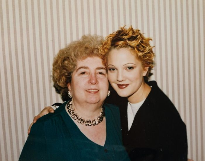 maria snoeys lagler with drew barrymore