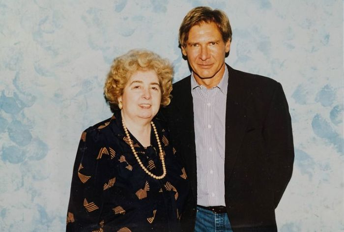 maria snoeys lagler with harrison ford
