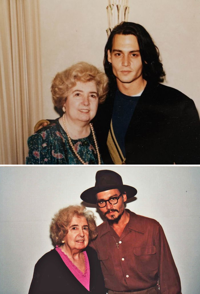 maria snoeys lagler with johnny depp