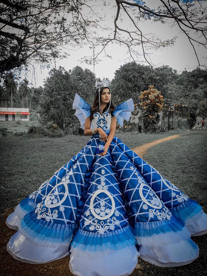 maverick oyao prom dress completed