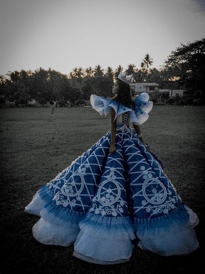 maverick oyao prom dress for sister