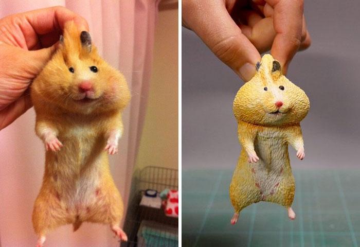 meme-inspired sculptures fatty cheeks