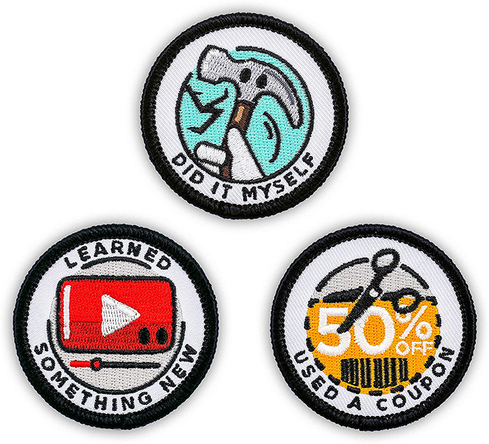 merit badges for adults achievements