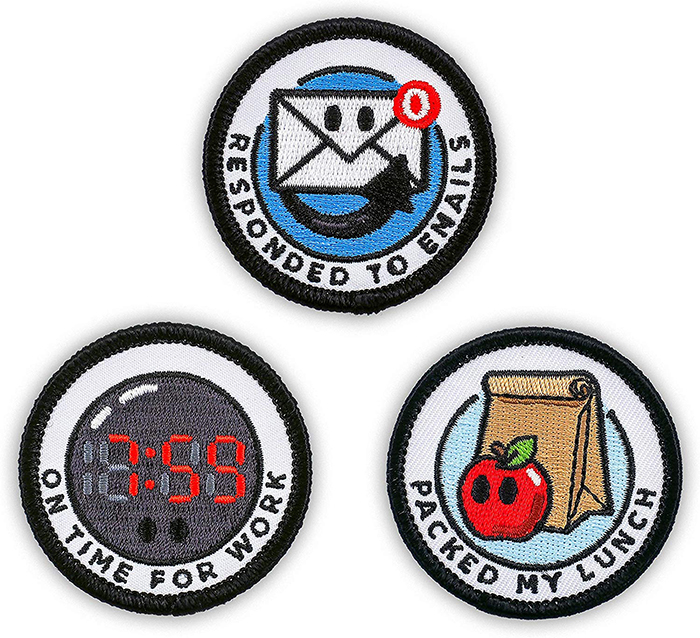 merit badges for adults corporate