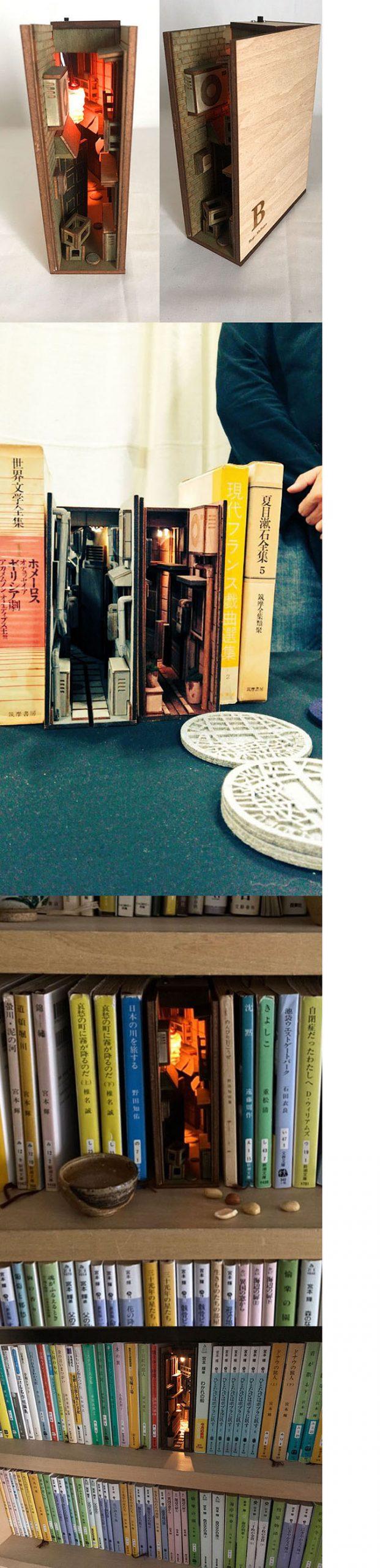 monde book diorama circa 2017