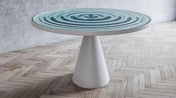mousarris contemporary tables rippling