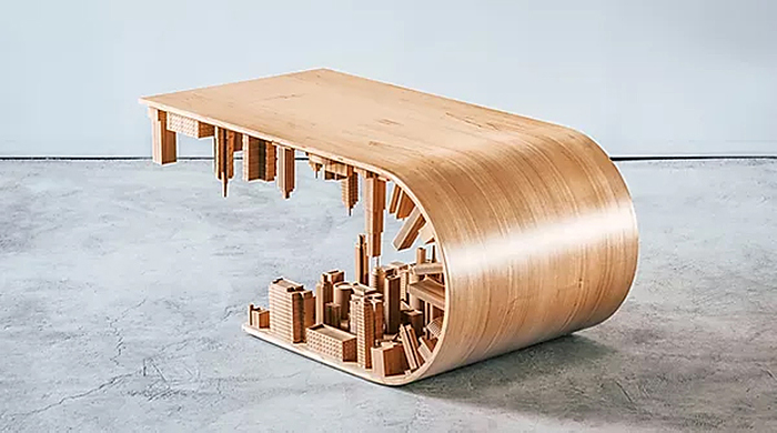 mousarris contemporary tables wave city