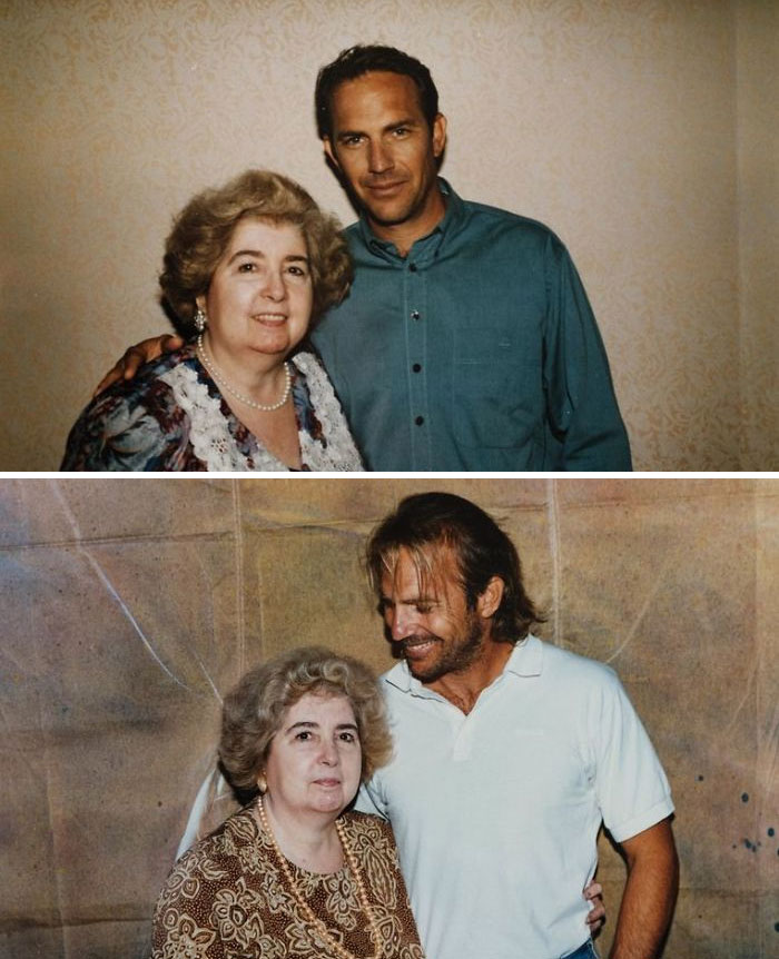mysterious photo album kevin costner