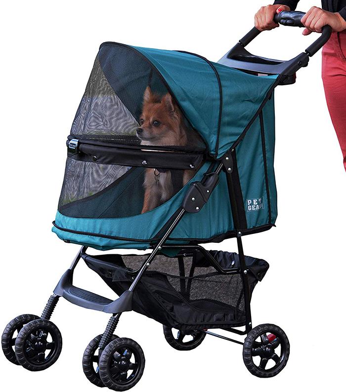 pet carriage chicken stroller emerald