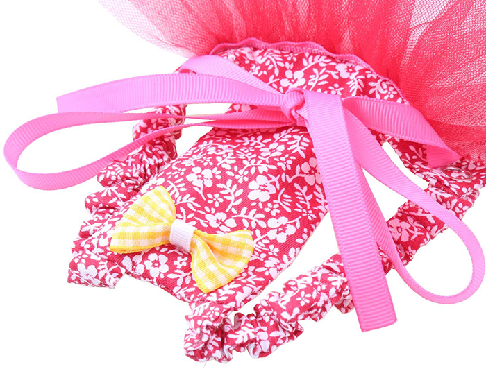 pink chicken tutus with grosgrain ribbon