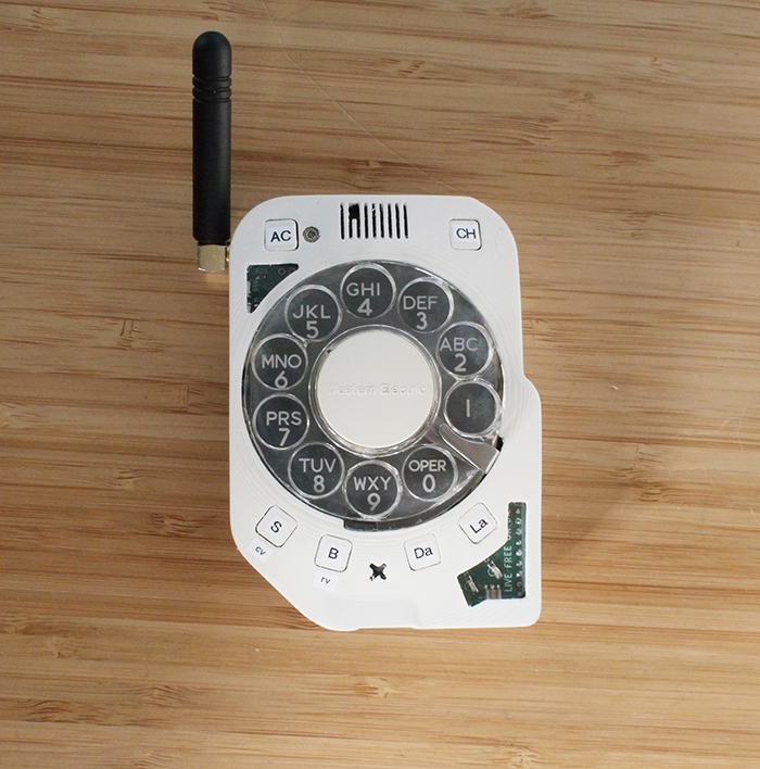 rotary cellphone retro dialing