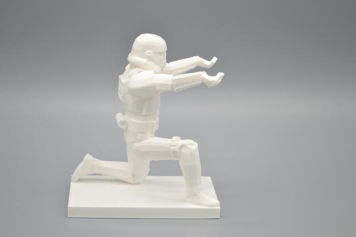 stormtrooper desk accessory 3d printed