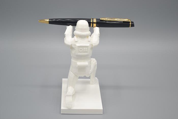 stormtrooper desk accessory back