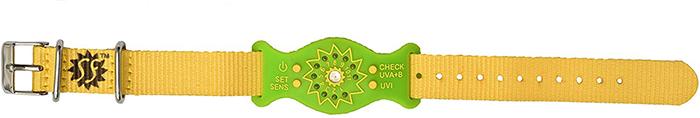 sunfriend ultraviolet monitoring device green
