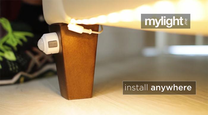 under bed night-light motion light sensor